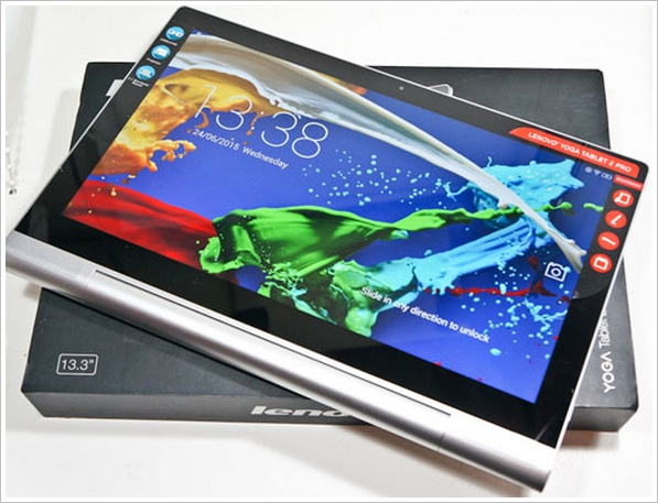 Lenovo Yoga Tablet 2 Pro – 13.3 inch screen and an integrated projector, a very unusual tablet indeed [Review]
