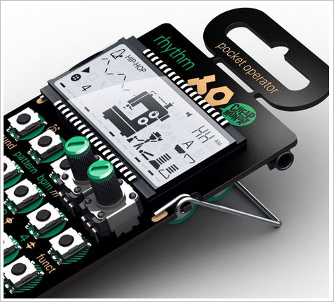 Pocket Operator Synths – battery powered portable synthesizer rocks your pocket and ears
