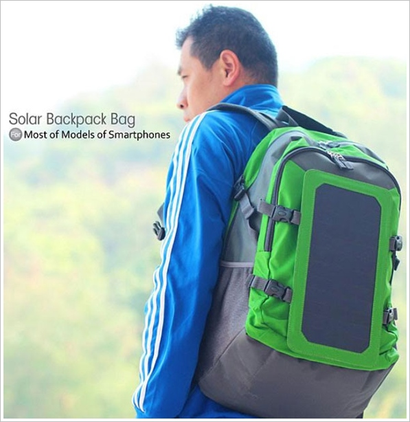 Solar Backpack 6W – your back as a power generator
