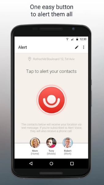 Alert – the one touch help button for your phone