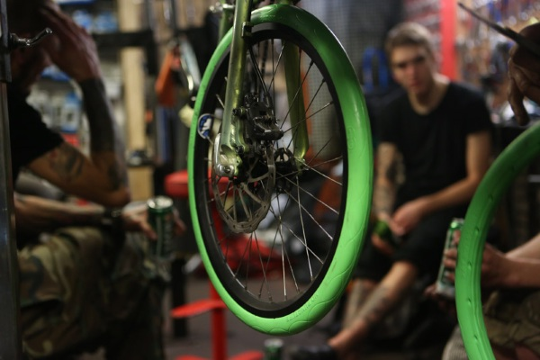 Tannus Tires – the bike tires that will never leave you flat