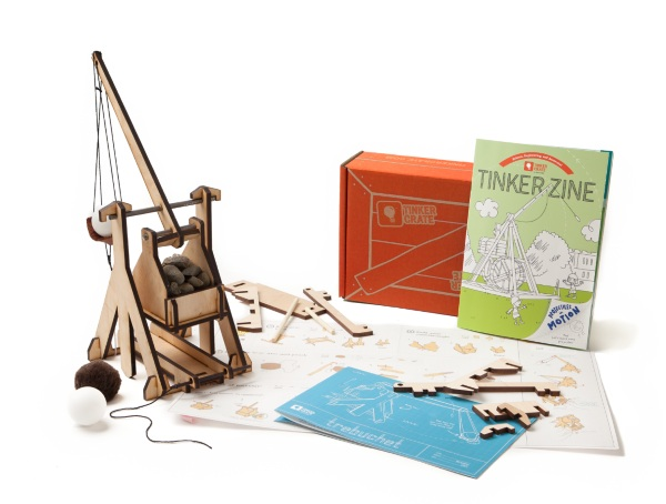 Tinker Crate – the monthly subscription for little makers