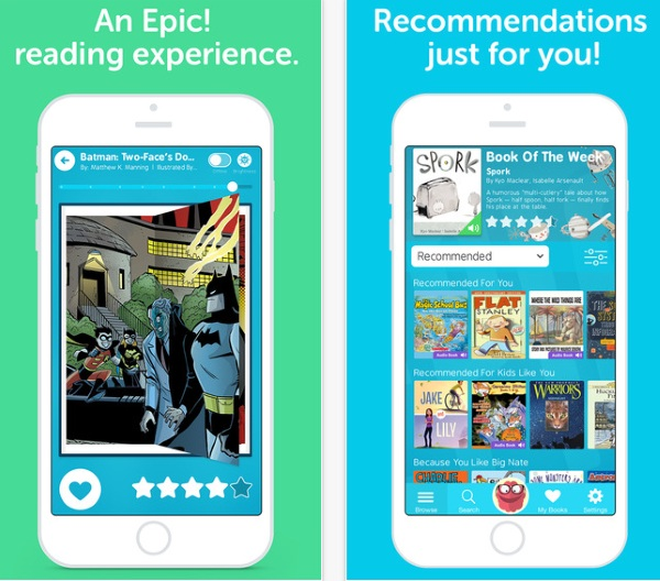 Epic – like Netflix for children's books