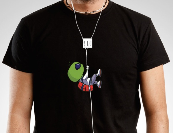 Wiretshirts – work your headphones into your look