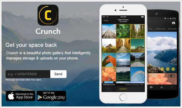 Crunch – reclaim valuable photo space on your phone memory [Freeware]