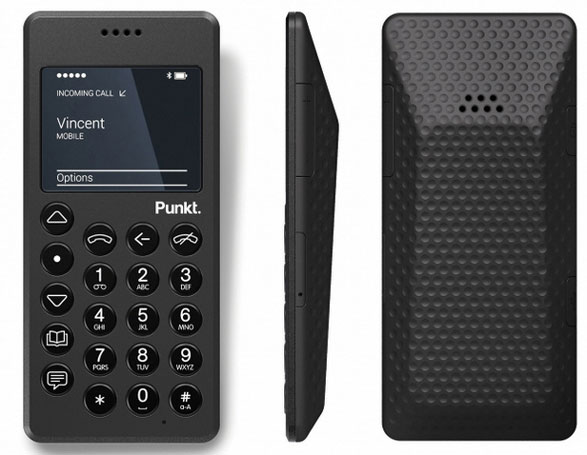Punkt MP01 – the mobile phone for people with more money than sense