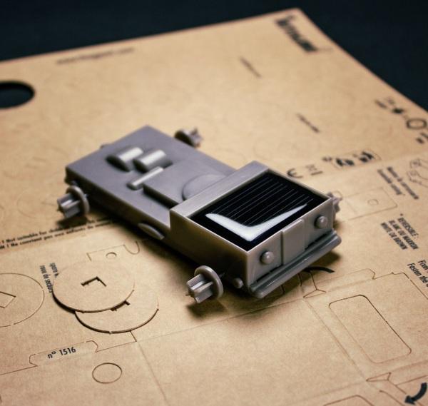 Autogami Solar Car – the little DIY buggy that runs on clean energy
