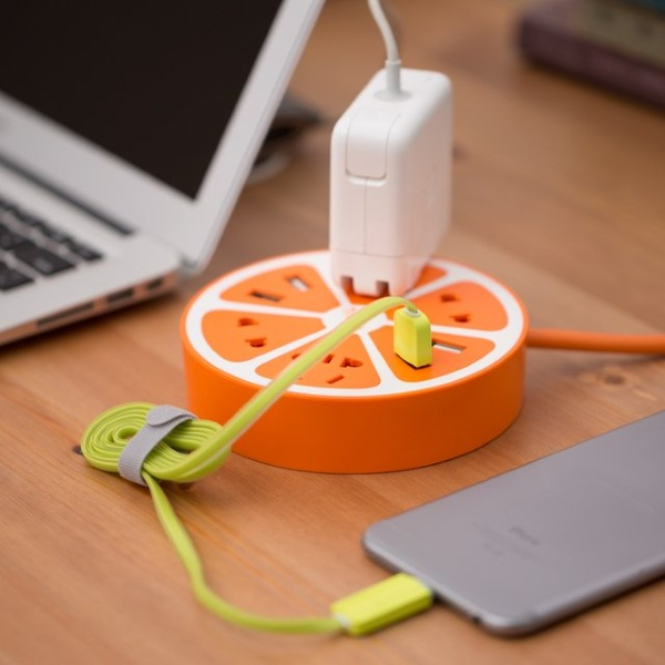 Fruit Power Strip orange