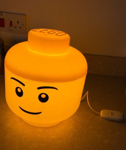 LED LEGO Lamp – everything is awesome with this lamp