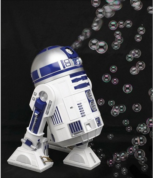 R2-D2 Bubble Machine – The Force (of fun) is strong with this one