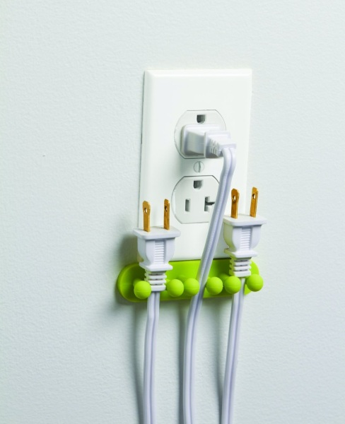 Pug Out Plug Organizer – keep you plugs handy even when not in use