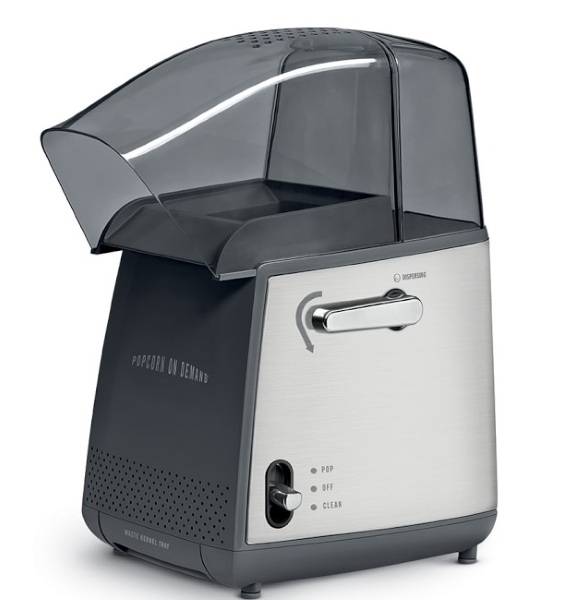 On Demand Hot Air Popcorn Popper – get that fresh popcorn without the burnt smell
