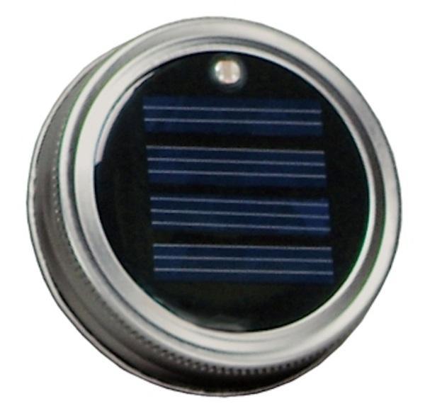 Moon Shiner Solar Powered Lid – turn that useless mason jar into a lamp