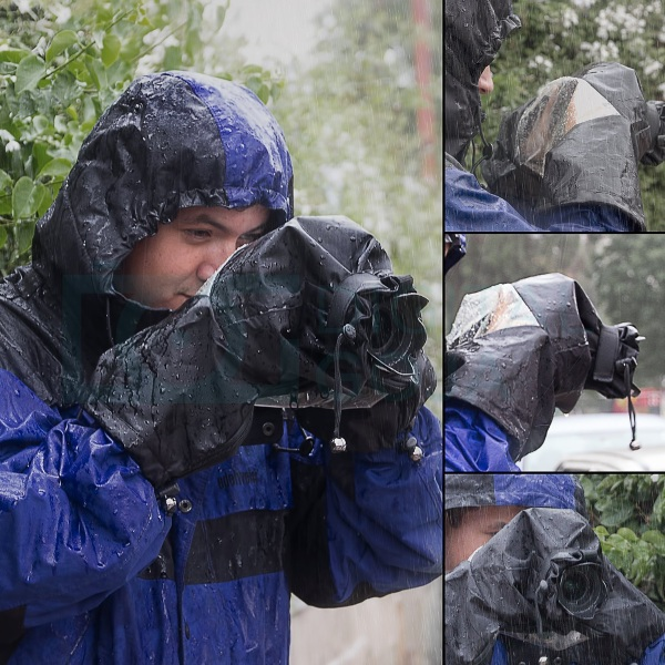Professional Rain Cover for DSLR Cameras – a raincoat for your camera