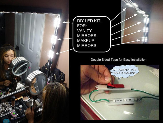 Vanity LED Mirror Kit – fell like a movie star in your own bathroom