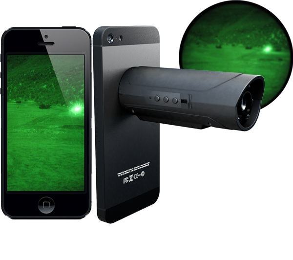 Snooperscope – use your phone as a night vision camera