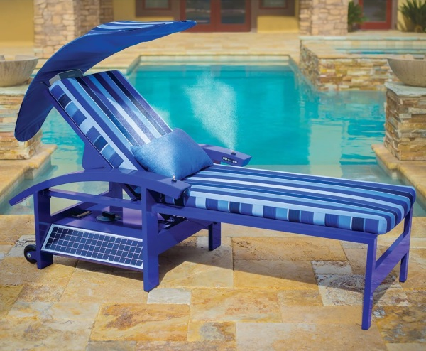 Solar Powered Entertainment Lounger – turn your chair into a battery