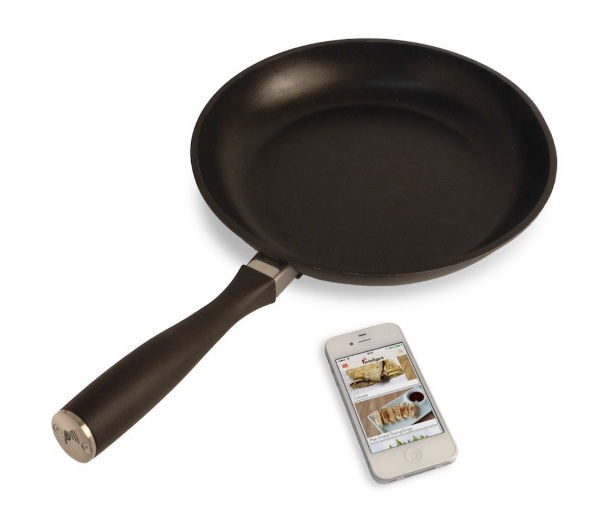 Pantelligent Frying Pan – get a real reading on your cooking heat, not a guestimate