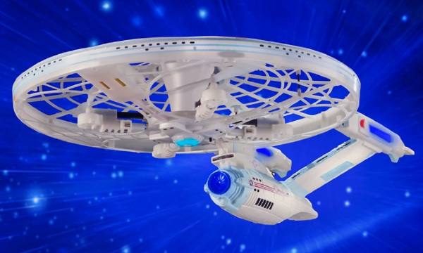 U.S.S. Enterprise Quadcopter – you are the captain of this ship