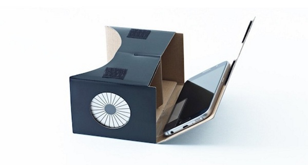 Milbox Touch – the cardboard VR that you can touch