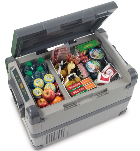 53 Quart Portable Freezer/Cooler – say goodbye wet soda cans with this outdoor freezer