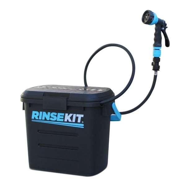 RinseKit Portable Sprayer – stop the beach from coming home with you with this kit