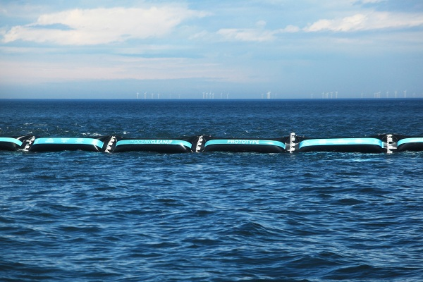 The Ocean Cleanup wall