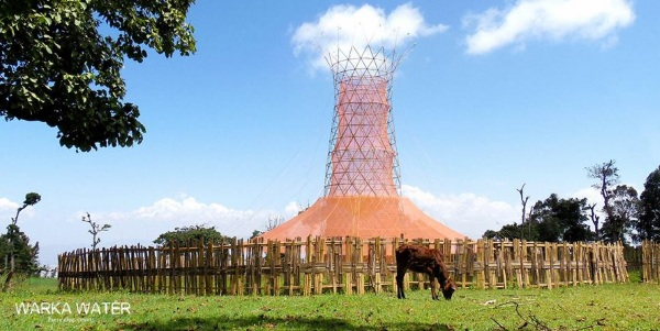 Warka Water – check out this sustainable water harvesting tower