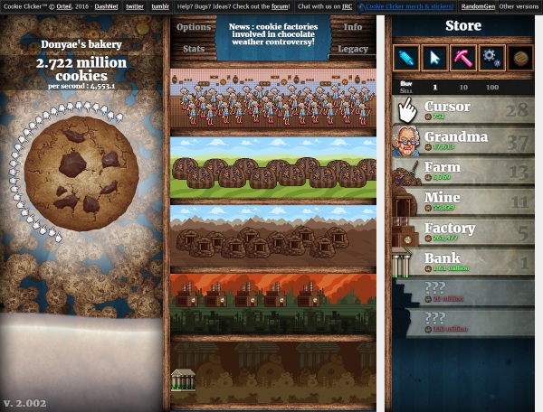 Cookie Clicker – build a sweet empire with your army of grandmas