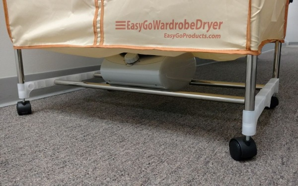EasyGo Wardrobe Dryer – the closet that dries your clothes