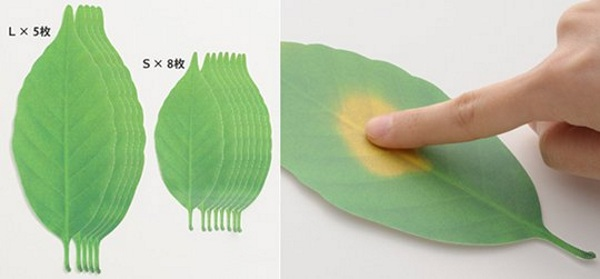 Leaf Thermometer Paper Temperature Reader – tell temperature the same way nature does