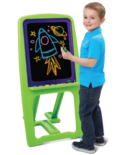 Young Van Gogh's Illuminated Dry Erase Easel – encourage a love of art, discourage self-mutilation