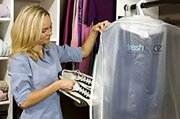 Garment Deodorizer – freshen your suits without a trip to the dry cleaners