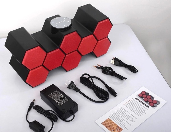 Honeycomb Sound – get your music through this sweet speaker