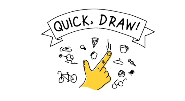 Quick, Draw – sort of like Pictionary with a computer