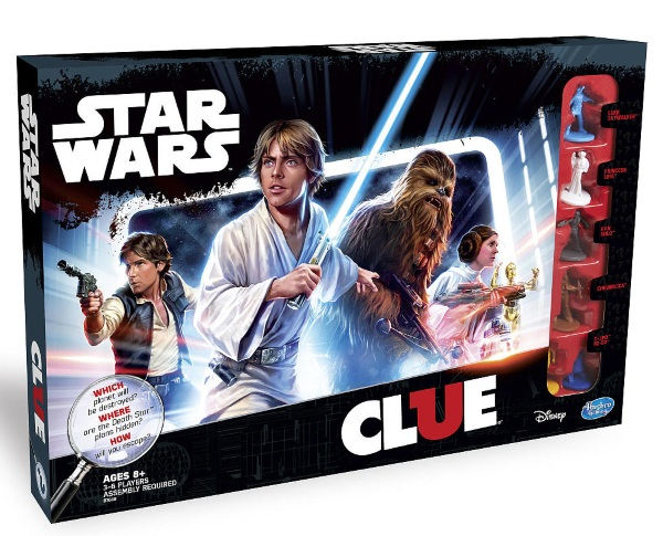 Clue: Star Wars Edition – take game night to a galaxy far, far away to solve this mystery