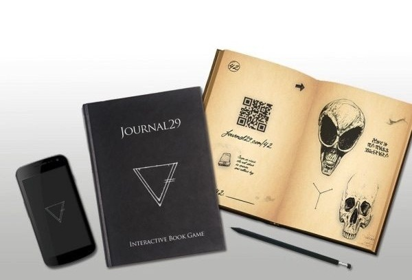 Journal 29 – solve the mystery with this web supported mystery game