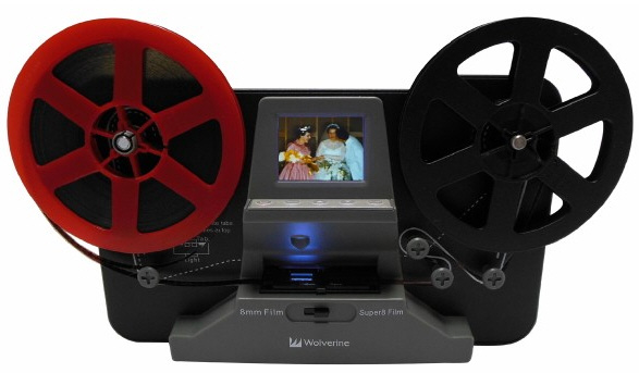 Wolverine 8mm Movie To Digital Converter – don't lose all that priceless footage in the attic