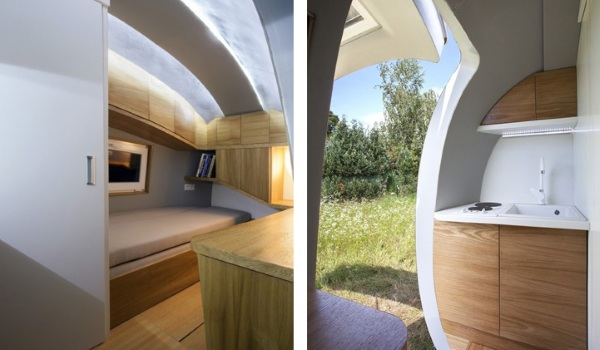 Ecocapsule – luxury tiny living, totally off grid