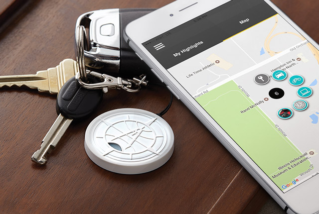Highlighter – find your keys with your phone