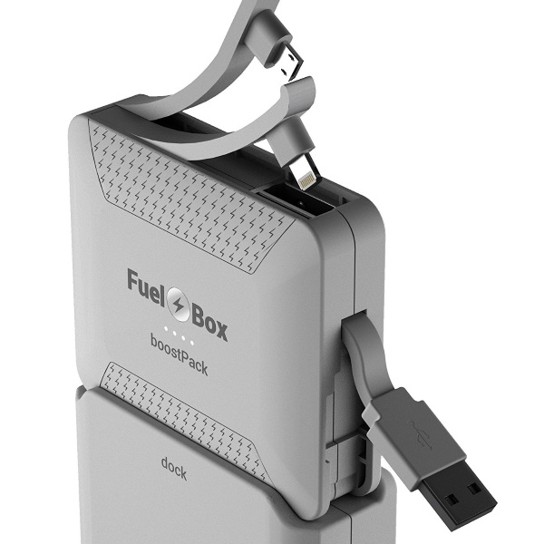 FuelBox Rapid Phone Charging Solution – this backup battery will always be ready to go