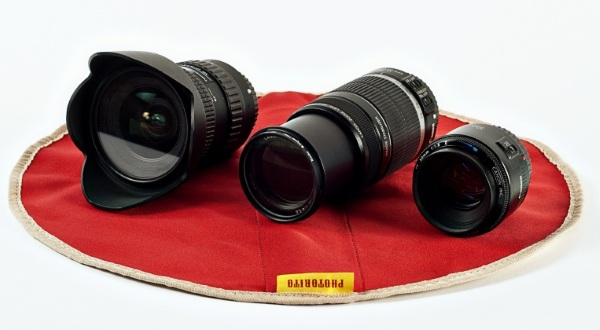 Photorito – keep your camera lens safe in this yummy looking wrap