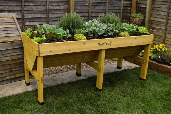 VegTrug – a raised garden bed for small living spaces