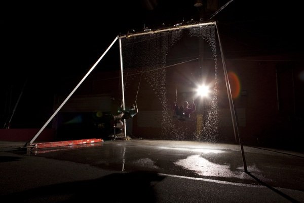 Waterfall Swing – ride right through the raindrops with this swing