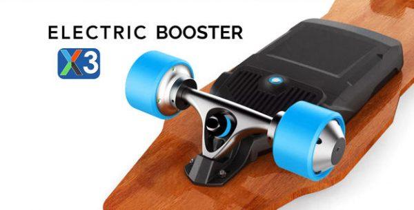 Onan X3 Booster: Cheap Electric Skateboard Alternative! [REVIEW]