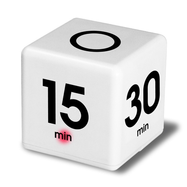 Miracle Cube Timer – you can't really cheat with this simple timer