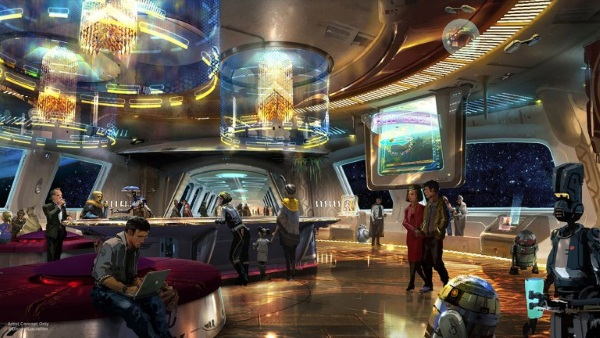 Disney's Star Wars Hotel – a overnight experience that will take you to a galaxy far, far away