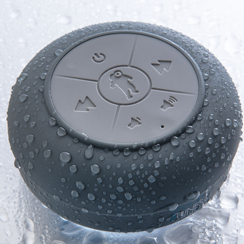 Splash Tunes Pro – This Sticky Speaker Plays Songs in Your Shower! [REVIEW]