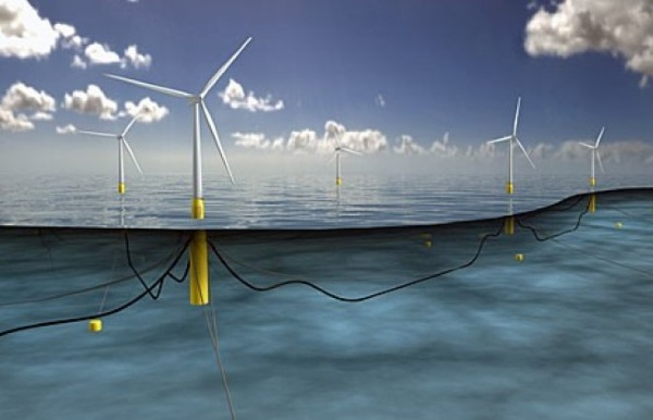 Hywind – these wind farms are planted in the ocean
