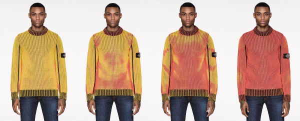 "Ice Knit – these color changing sweaters are quite ""cool"""